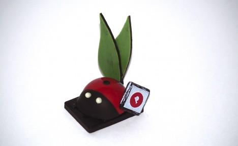 Mini coccinelle noir
