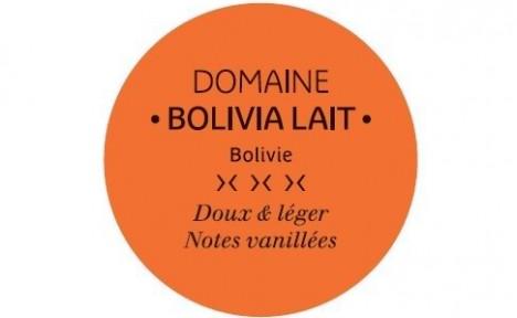 Tablette Bolivia lait