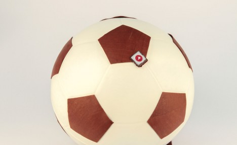 Ballon de foot lait