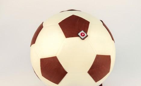 Ballon de foot noir