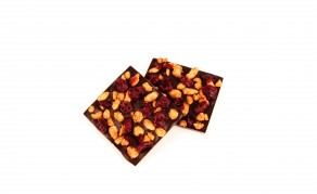 Tablette Garnie Amandes et Cranberries