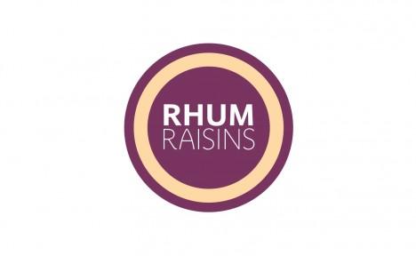 Glace rhum raisins