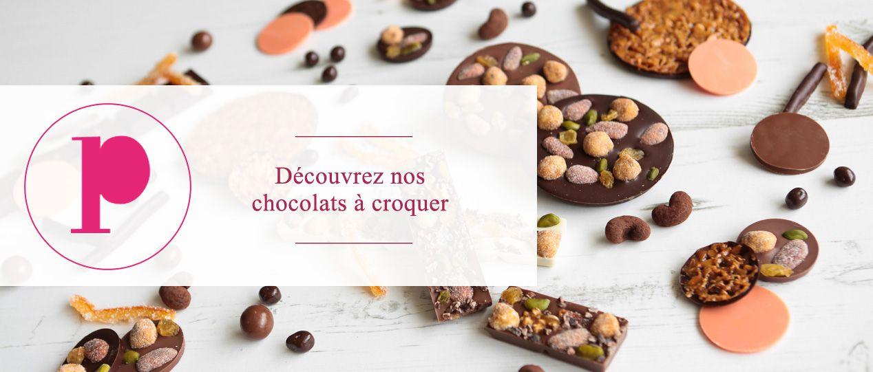 Les friandises au chocolat