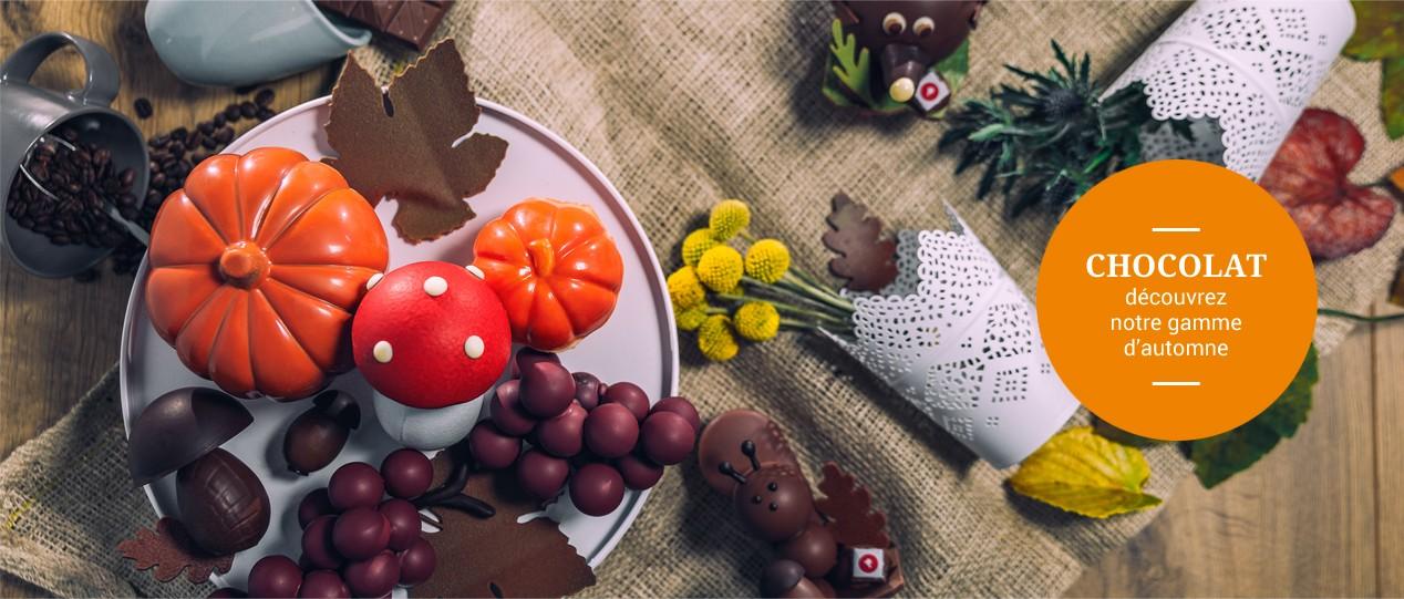Chocolat - Découvrez notre gamme d'automne