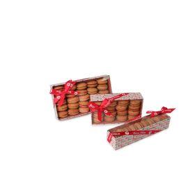 Réglettes de macarons craquelés